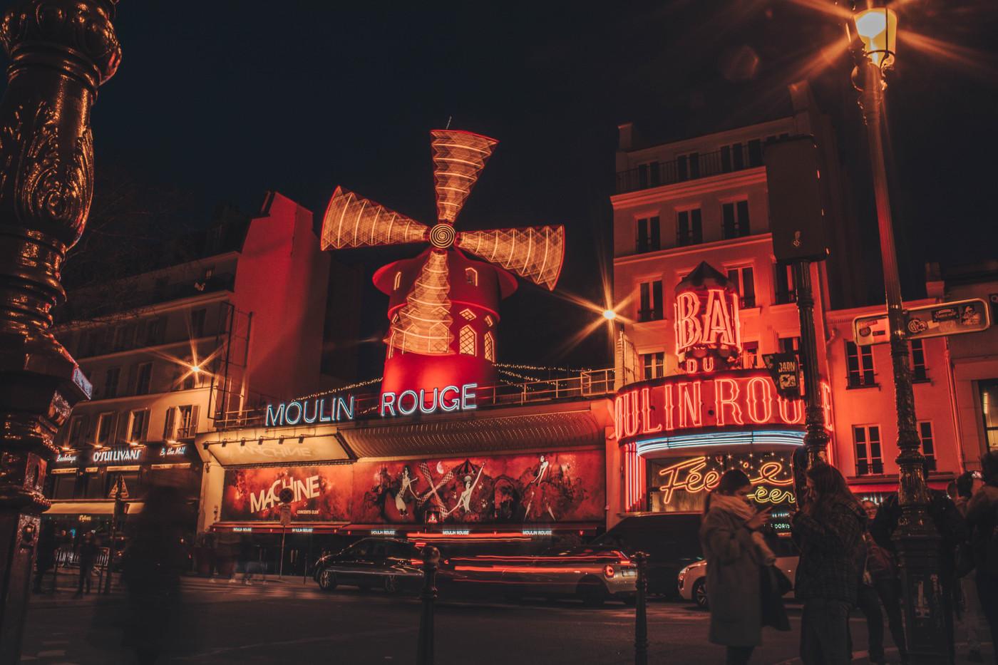 Moulin Rouge, Léchelle