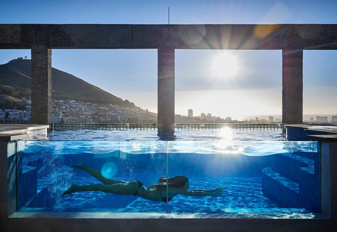 Pool at The Silo, Cape Town, South Africa. instagram.com/theroyalportfolio