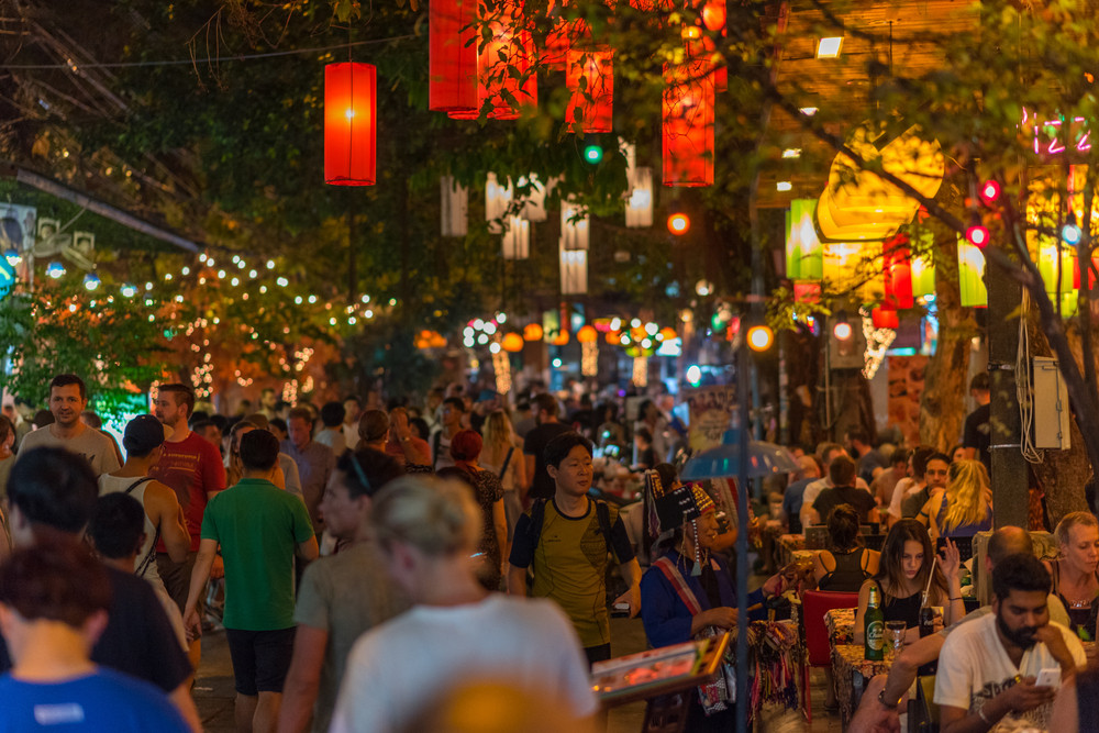 Soi Rambuttri, Bangkok, Thailand. David Bokuchava / Shutterstock.com