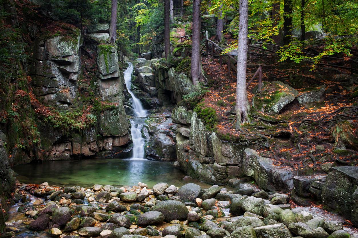Karkonosze National Park, Poland.