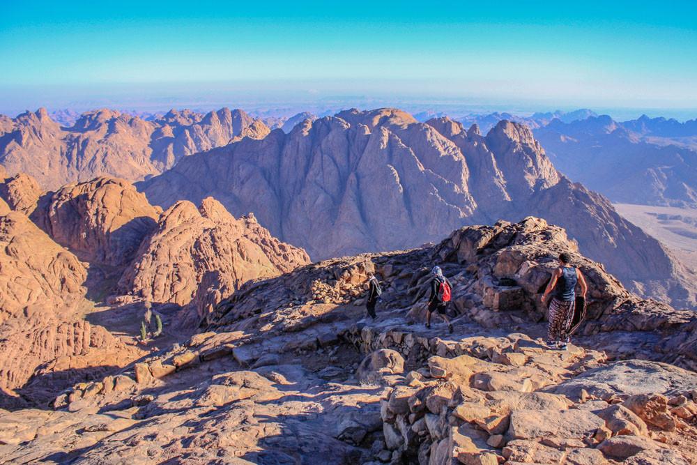 Descending, Mount Sinai, Egypt.