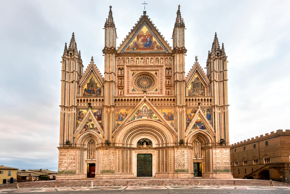 Orvieto Cathedral, Orvieto, Italy.