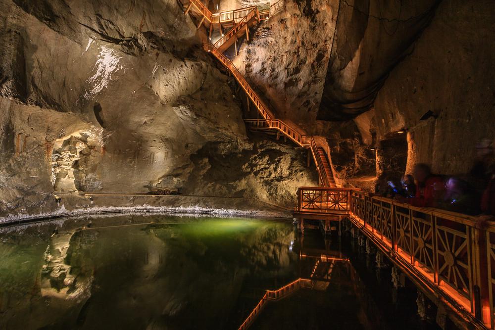 Wieliczka Salt Mines, Poland. Xseon / Shutterstock.com