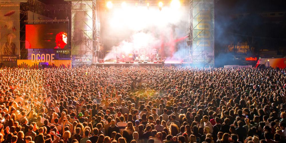 Dcode Music Festival, Madrid, Spain.
