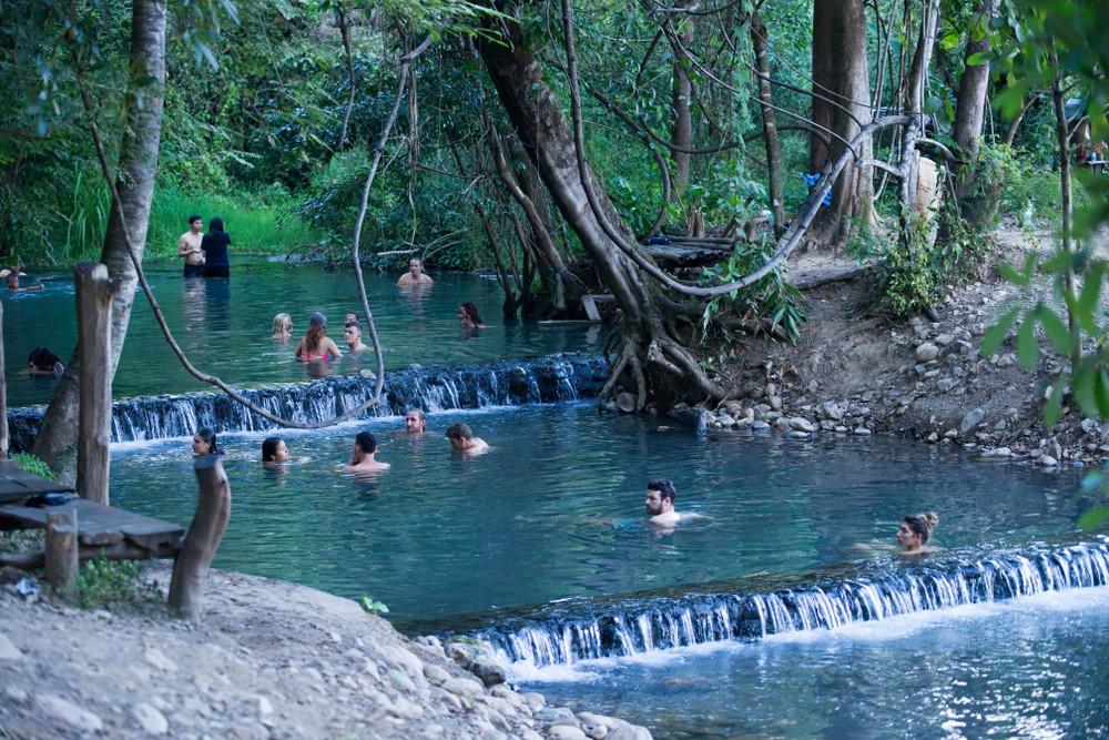 Pai Sai Ngam hot springs, Pai, Thailand. iambasic_Studio/Shutterstock.com