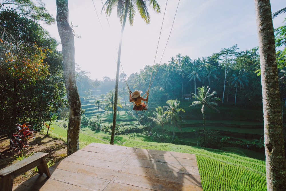 Ubud, Bail, Indonesia.