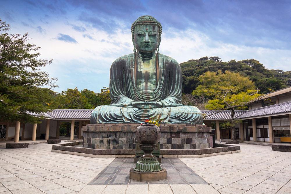 Kotoku-in, Kamakura-shi, Kanagawa-ken, Japan.