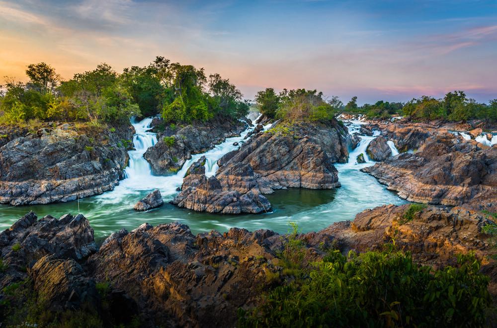 Si Phan Don, Champasak Province, Laos.