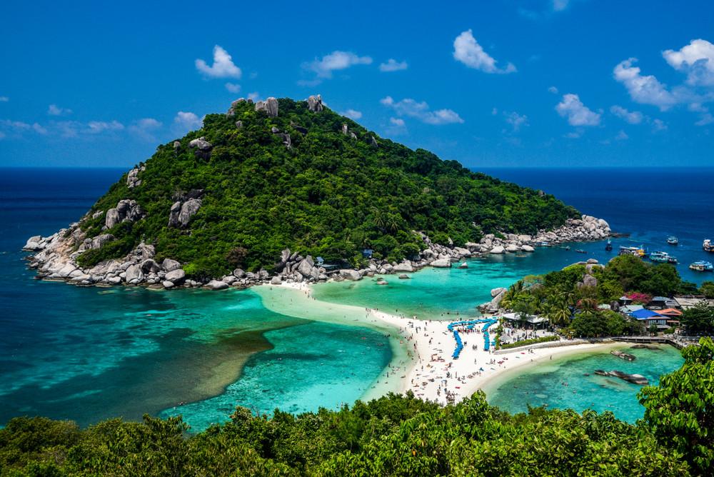 Koh Nangyuan Island, Thailand.