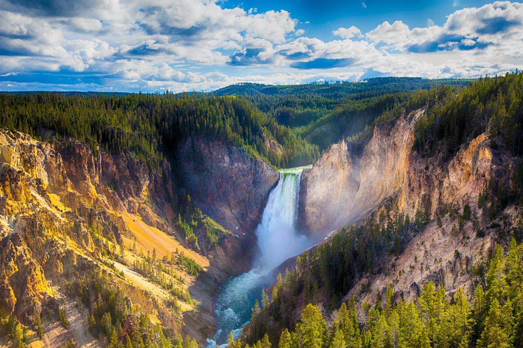 Lower Falls of the Yellowstone, Yellowstone National Park
