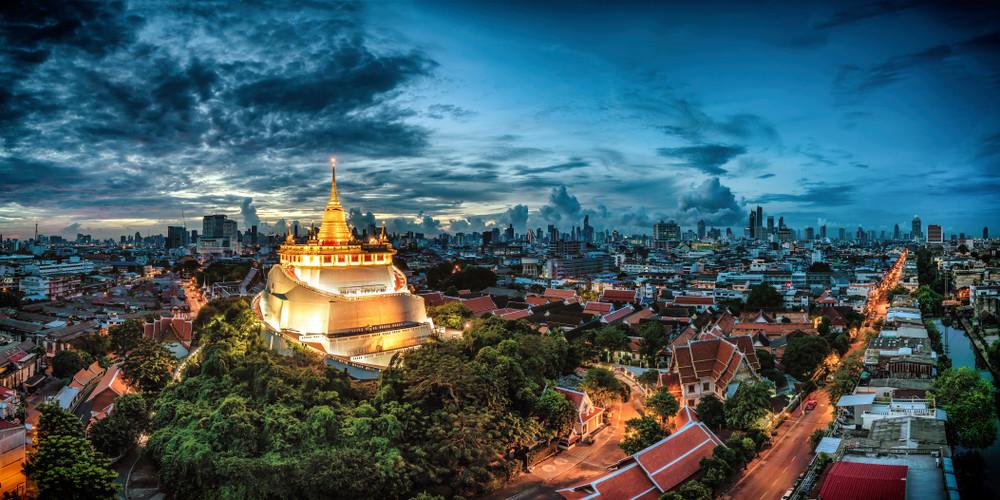 Wat Saket, Thailand.