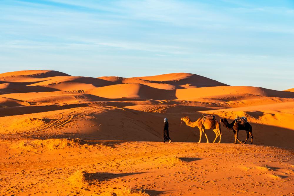 Merzouga, Morocco. posztos/Shutterstock.com
