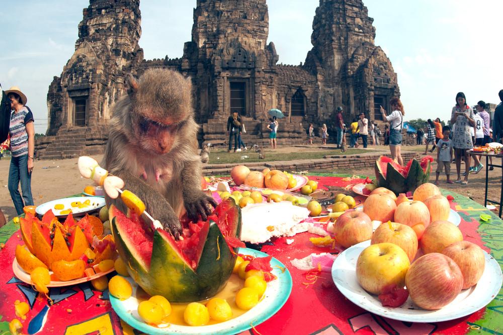 Phraphrangsamyod Temple, Lopburi, Thailand.topten22photo/Shutterstock.com