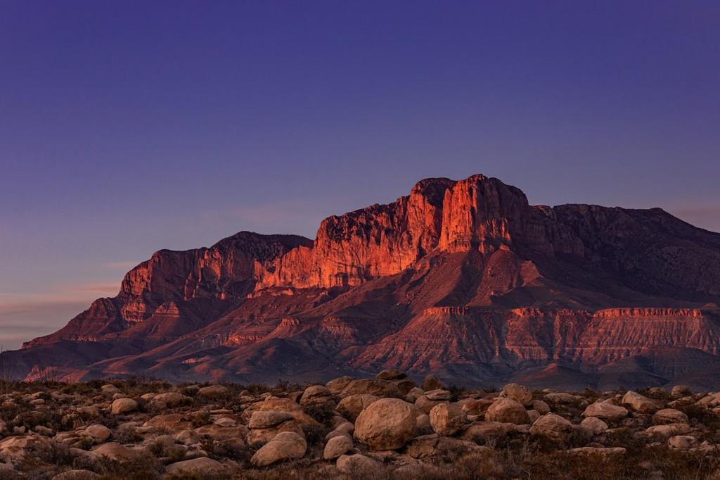 Guadalupe Mountains National Park, Salt Flat