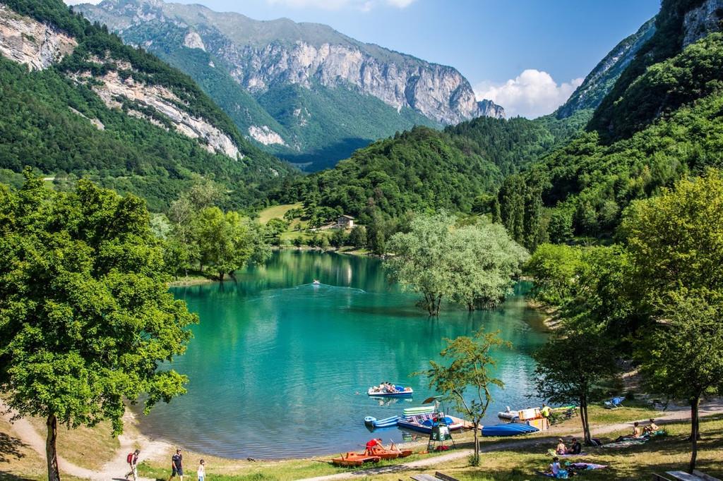 Lago di Tenno, Tenno