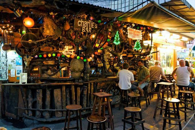 Cheap Charlie's Bar, Bangkok, Thailand.