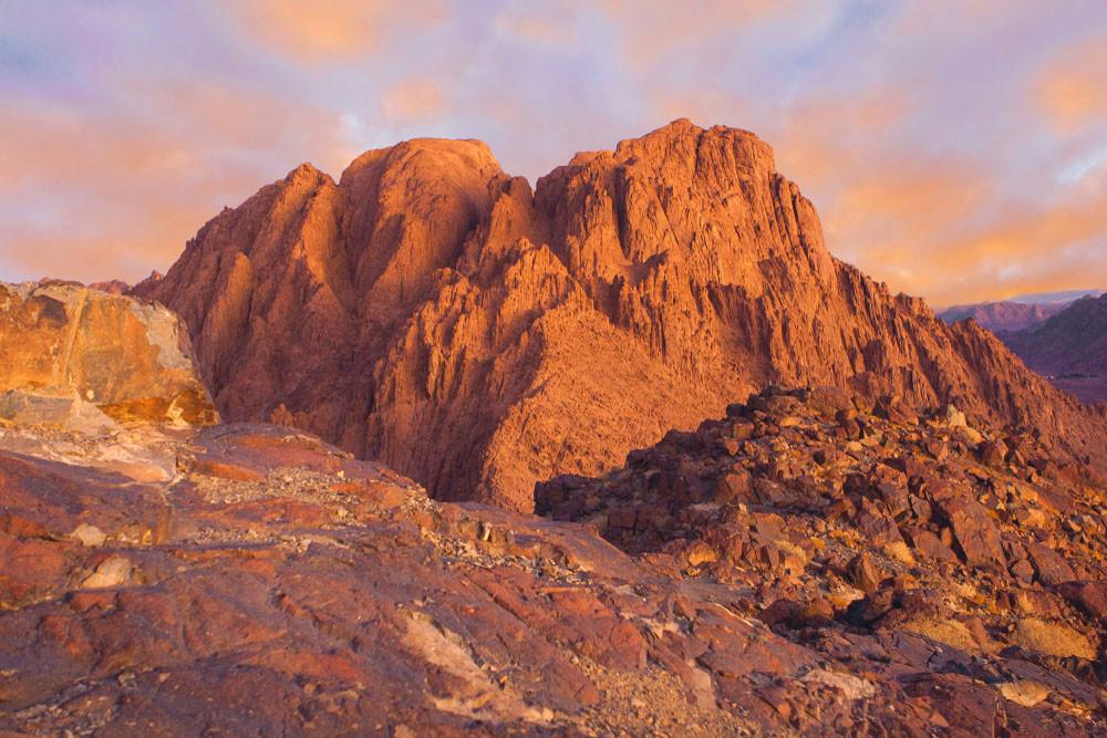 Sunrise, Mt Sinai, Egypt.