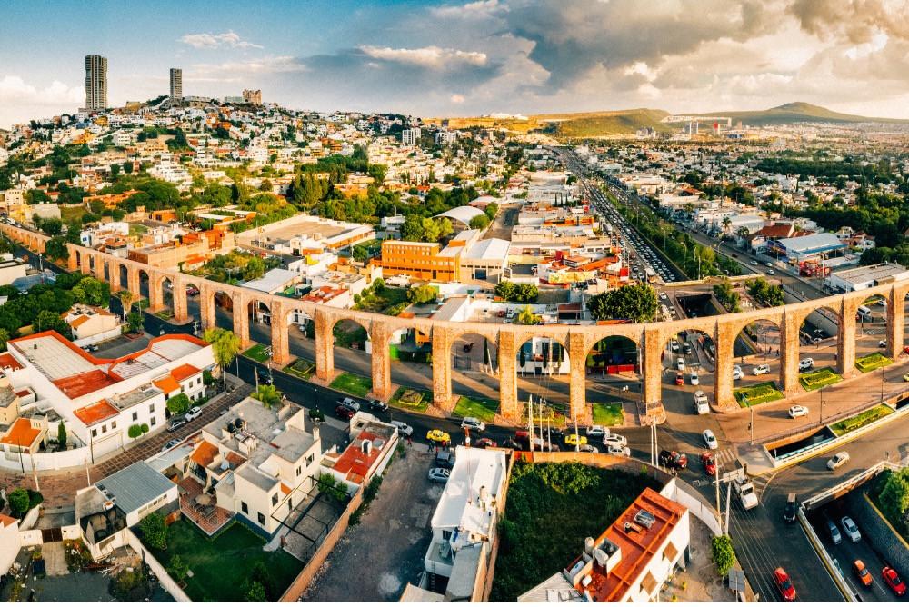 Santiago de Querétaro, Mexico.