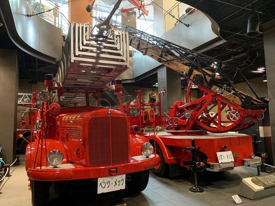 Tokyo Fire Museum, Tokyo, Japan. instagram.com/tokyotoddlerlife