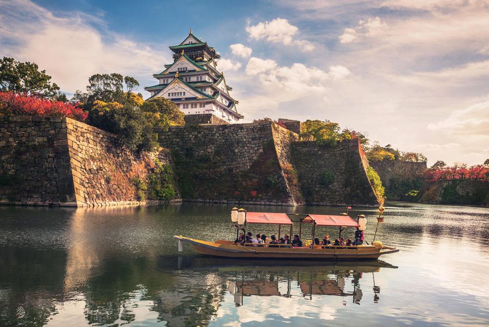 Osaka Castle area, Osaka, Japan. Nataliya Hora / Shutterstock.com
