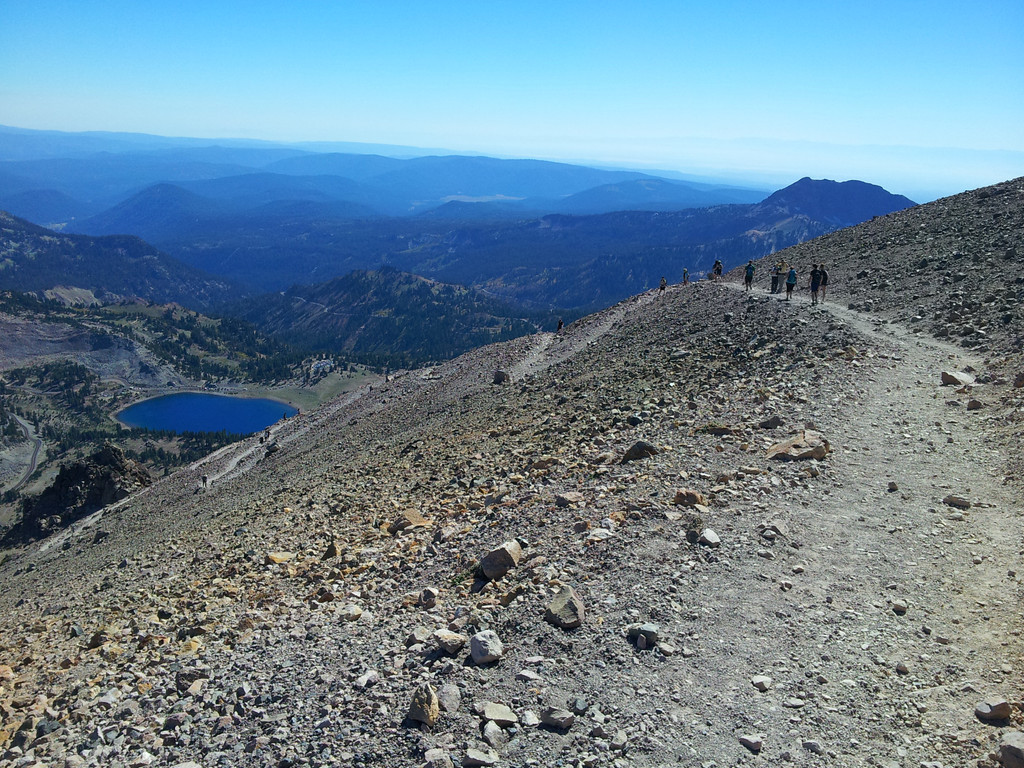 Lassen Peak, Peak