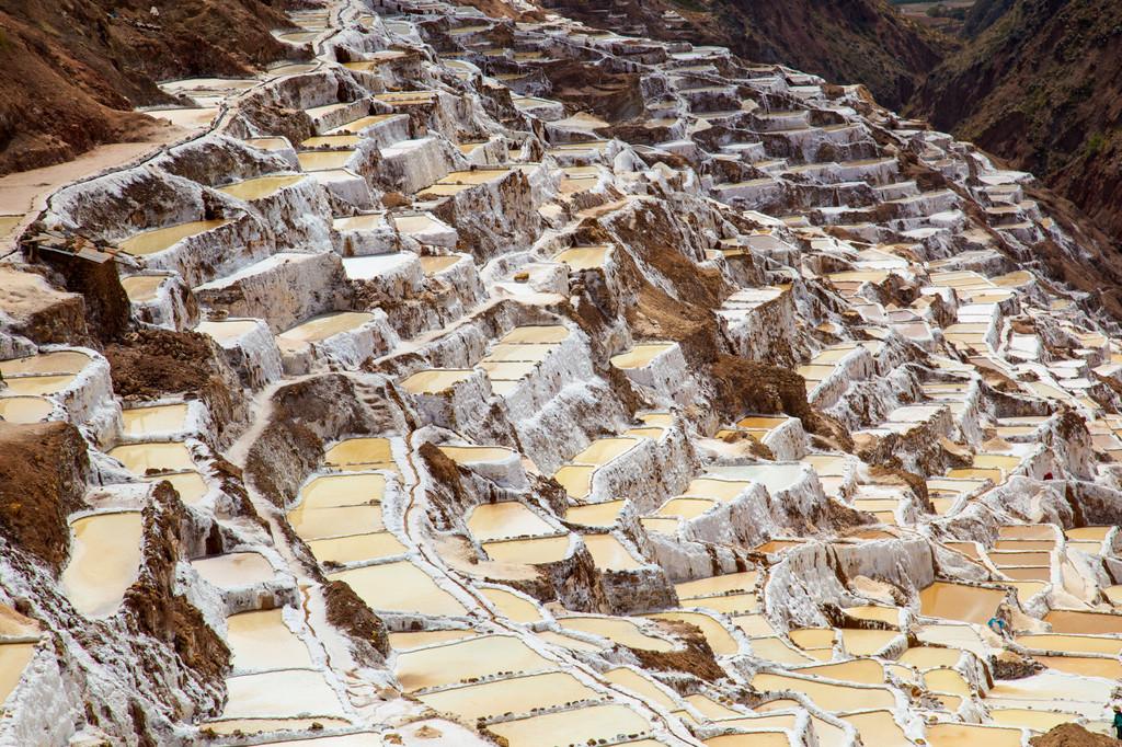 Maras Salt Mines,