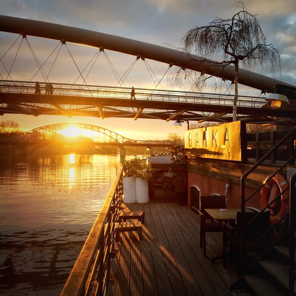 Barka riverboat, Vistula Boulevards, Krakow, Poland. facebook.com/barkakrakow/