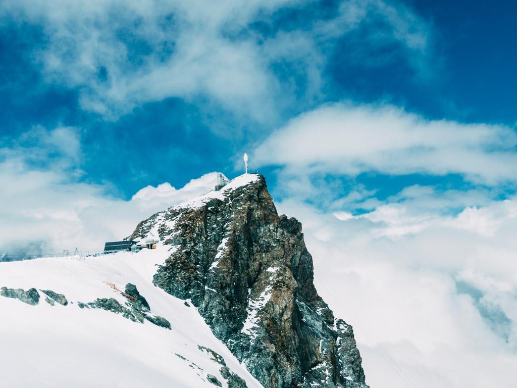 Peak, Klein Matterhorn, Zermatt, Switzerland.