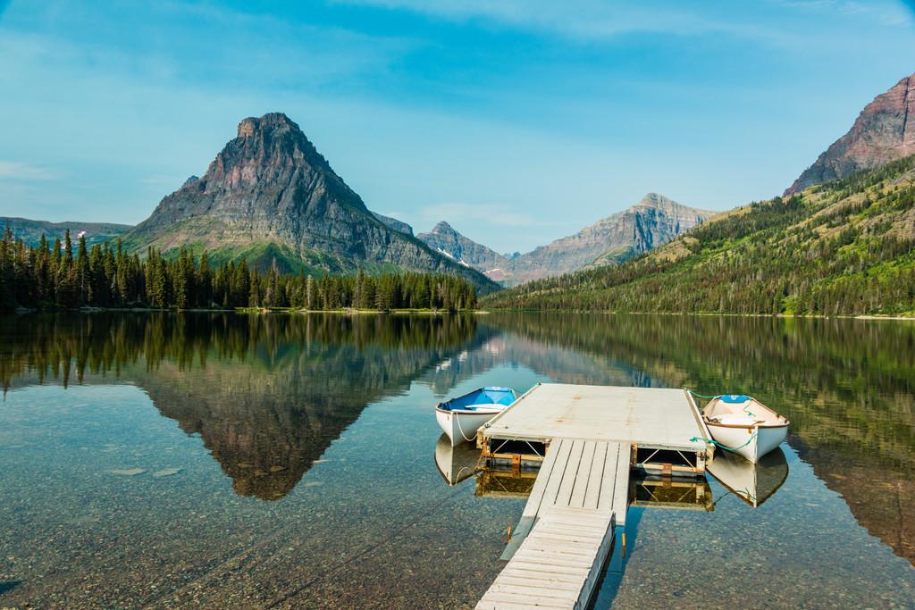 Two Medicine Lake, Medicine Lake