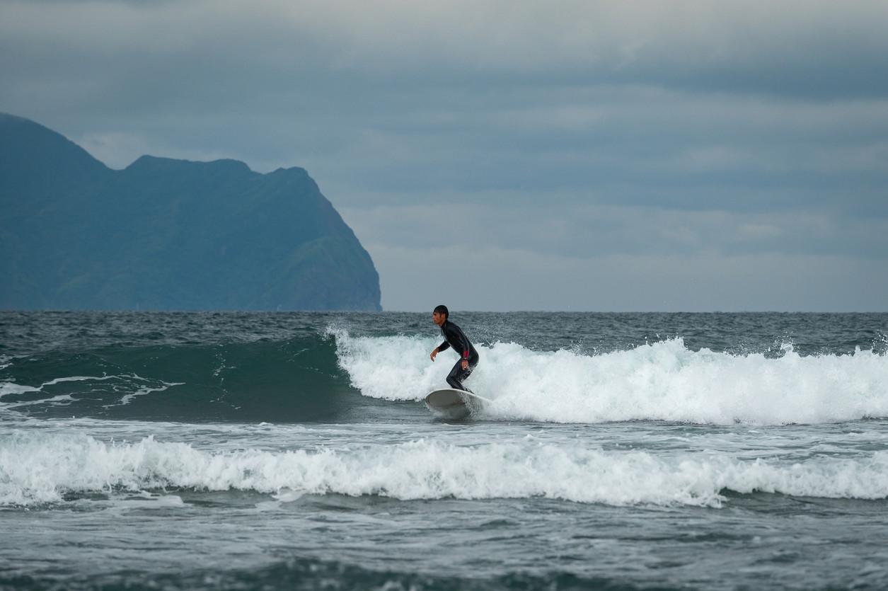 Surf in Taiwan.