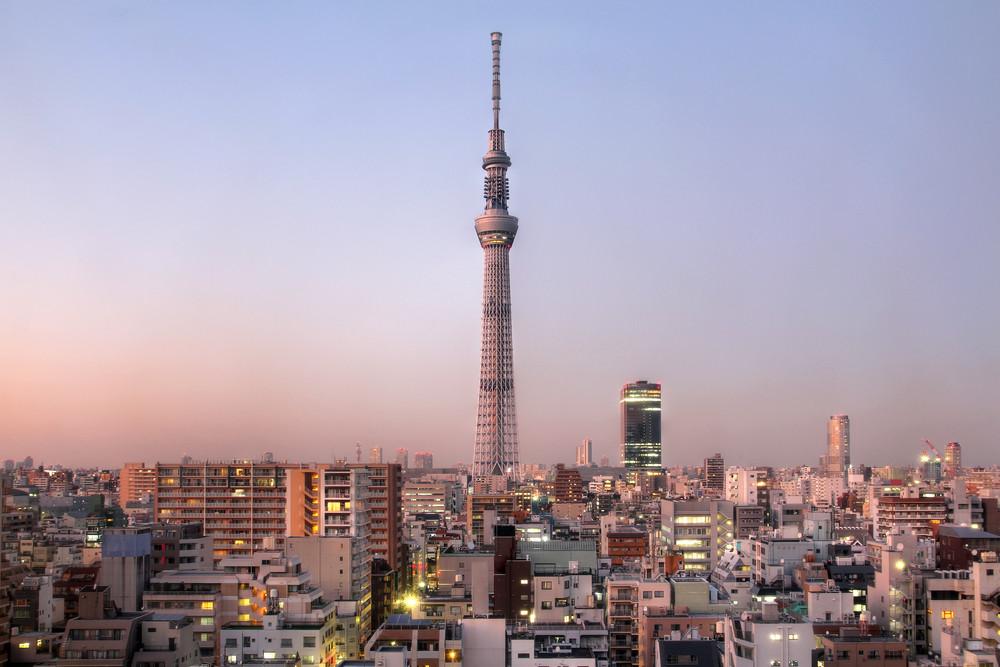 Tokyo Skytree, Tokyo, Japan.