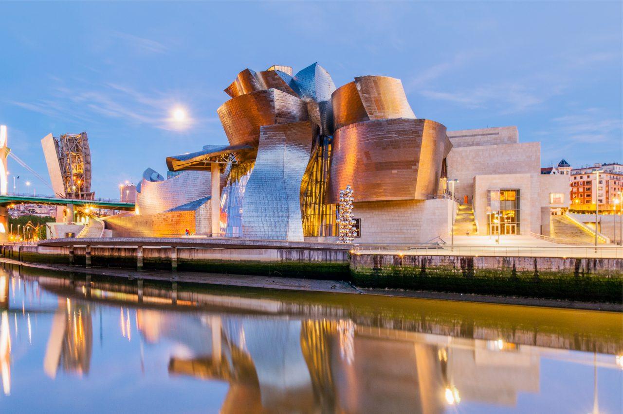 Guggenheim Museum, Bilbao, Spain. Rudy Mareel/Shutterstock.com