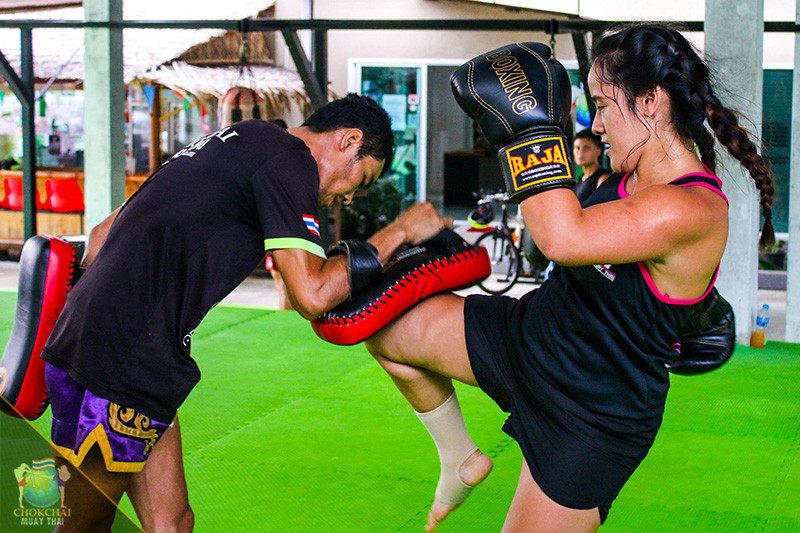 Chokchai Muay Thai Gym, Chalong, Phuket, Thailand. Credit: Chokchai Muay Thai Gym