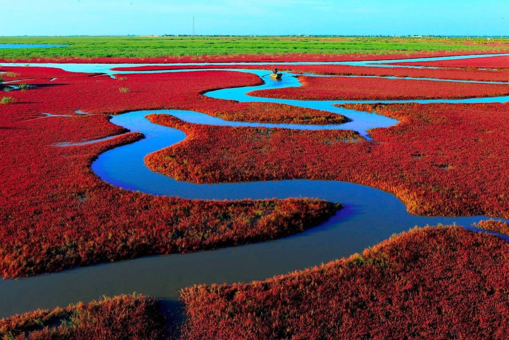 Red Beach National Landscape Gallery, Panjin Shi