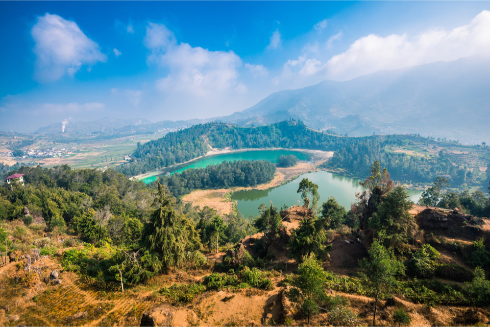 Dieng Plateau, Central Java, Indonesia.