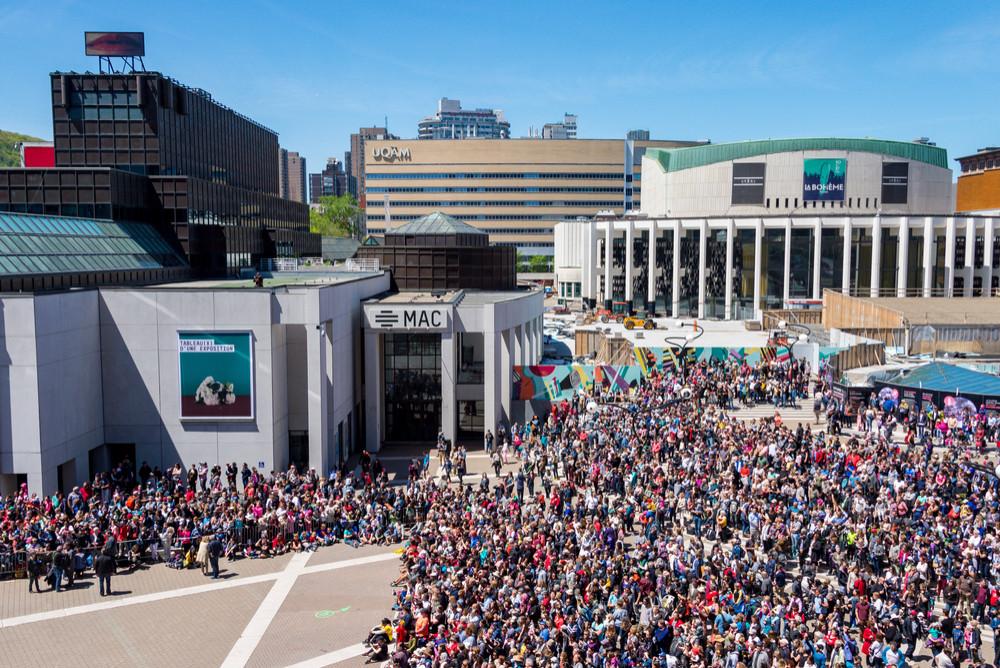 MAC Montréal, Montréal, Quebec, Canada. Marc Bruxelle/Shutterstock.com