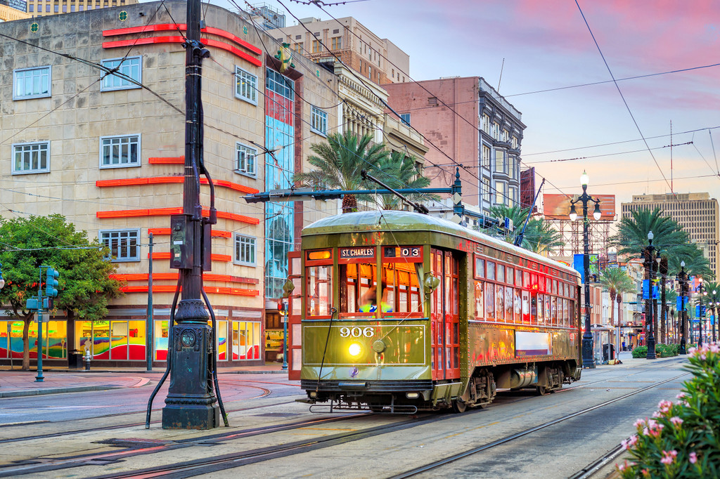 St Charles Street Car Tours, New Orleans