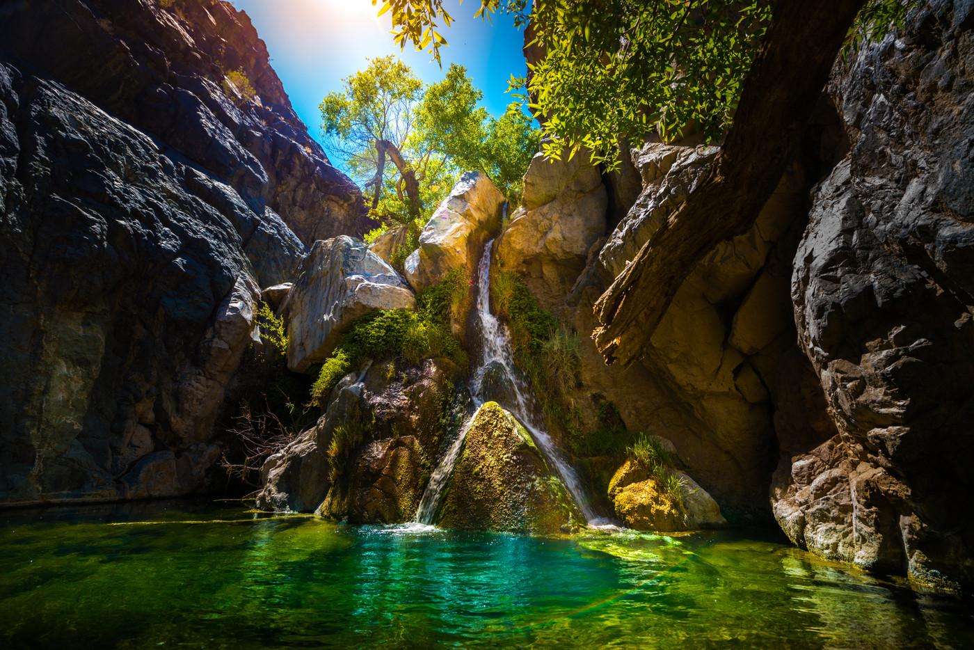 Darwin Falls, Darwin Falls
