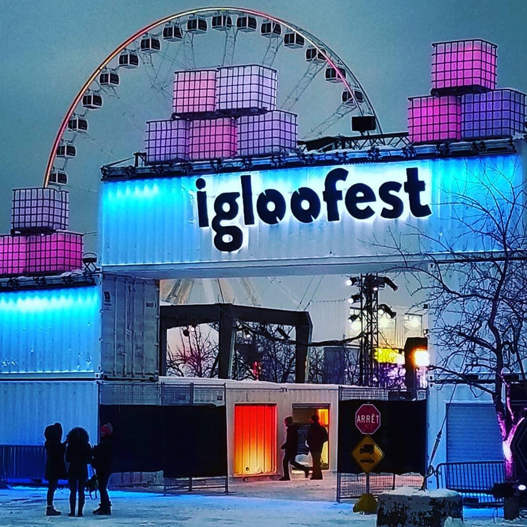 Igloofest, Montréal, Quebec, Canada. instagram.com/ohyesitschad