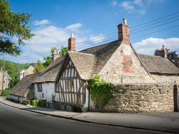 Ancient Ram Inn, Gloucestershire, England. haunted-britain.com
