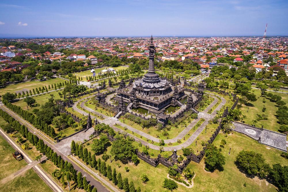 Bajra Sandhi Monument, Bali, Indonesia.